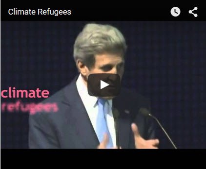 Climate refugee
