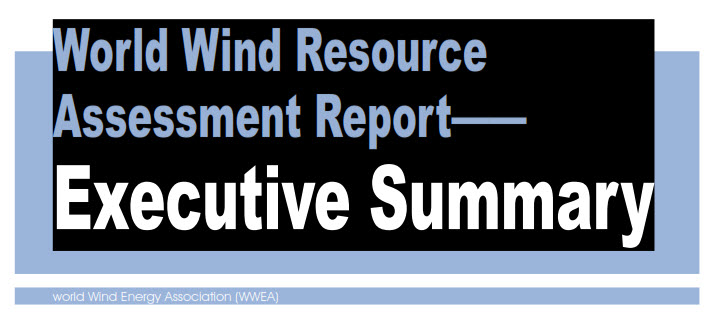 World wind resource