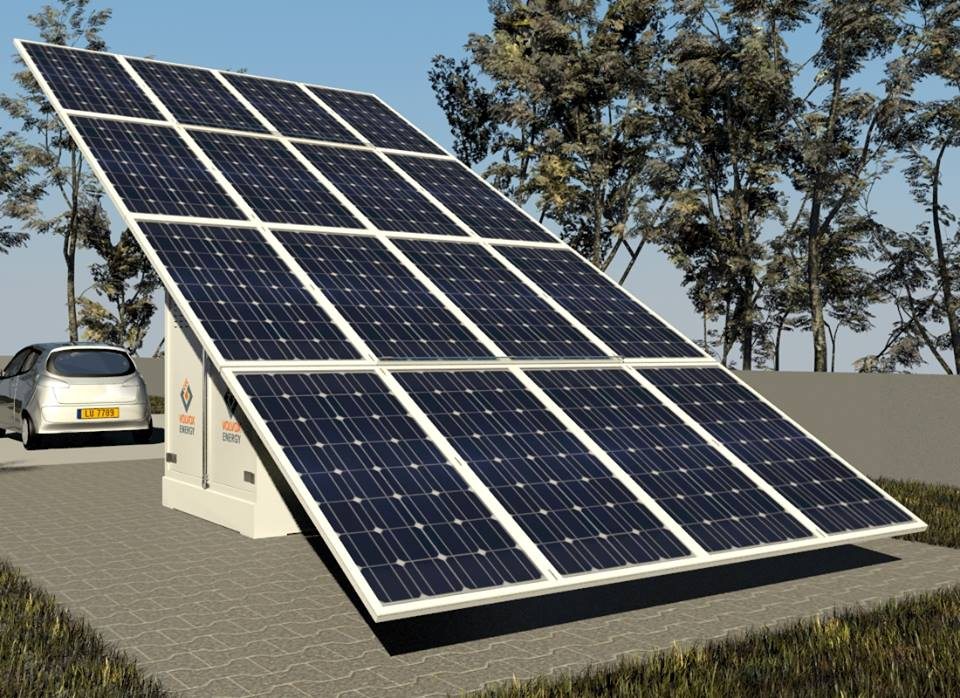 Container fotovoltaic