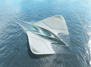 This incredible futuristic floating city is completely self-sustainable