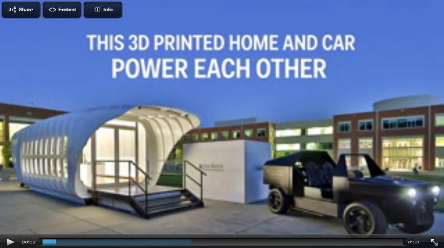 3d printed home