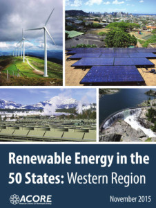 Renewable energy in the 50 states of US 11.2015